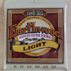 Cordes folk Ernie Ball Earthwood light 11-52