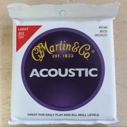 Jeu de cordes folk Martin light 12-54