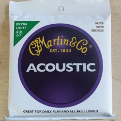Cordes folk Martin extra-light 10-47