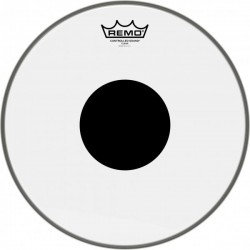 Peau Remo Controlled Sound 13'' transparente