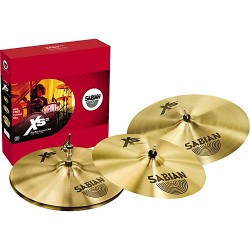 Pack Sabian XS20 Performance Set - 14'' - 16'' - 20''