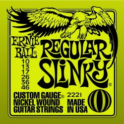 Cordes élect. Ernie Ball light 10-46