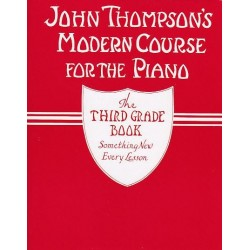 Thompson - Modern course for the piano - Volume 3