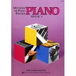 Bastien - Méthode de piano - Volume 1