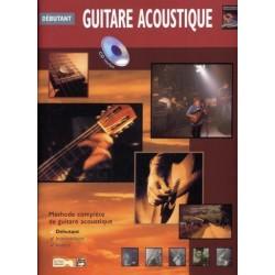 Débutant Guitare acoustique - Méthode avec CD