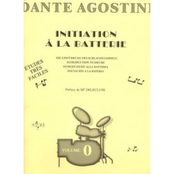 Agostini - Initiation à la batterie - Vol.0