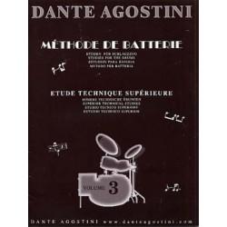 Agostini - Méthode de batterie - Vol.3