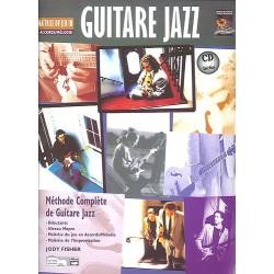 Maîtrise du jeu en accords/mélodie Guitare jazz - Méthode avec CD