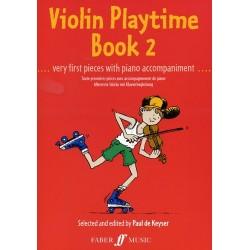 de Keyser - Violin Playtime Book 2