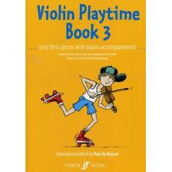 de Keyser - Violin Playtime Book 3