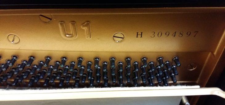 numéro de série piano