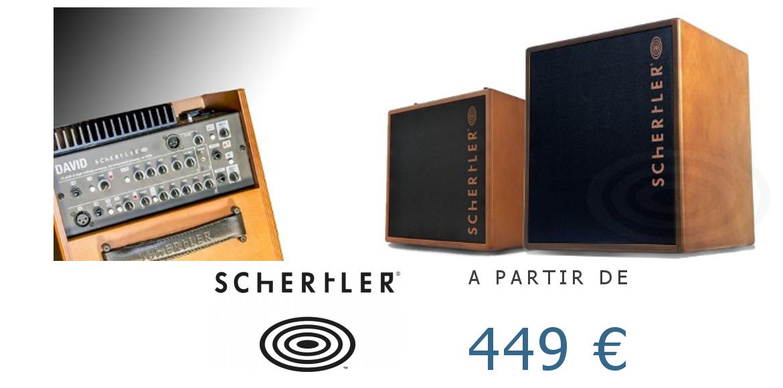 Amplis guitare acoustique Schertler