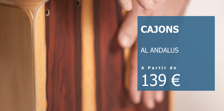 Cajons Al Andalus