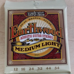 Cordes folk Ernie Ball Earthwood medium-light 12-54