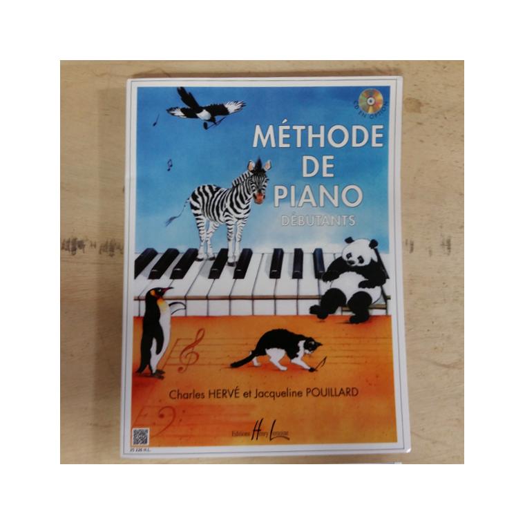 Pouillard - Méthode de piano débutant