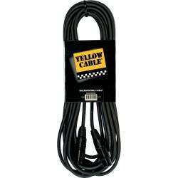 Câble micro XLR-XLR 10 mètres