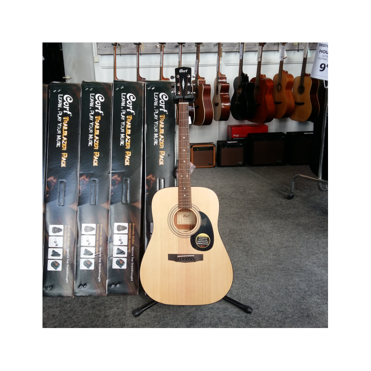 Pack Guitare Folk Cort