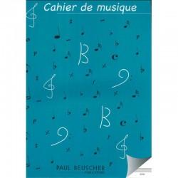 Cahier De Musique 12 Portees Hexa