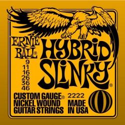 Cordes élect. Ernie Ball Slinky Hybrid 9-46