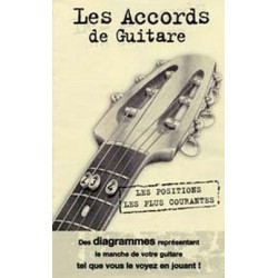 Mini dictionnaire d'accords de guitare