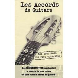 Mini dictionnaire d'accords de guitare
