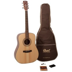 Pack Guitare folk Cort Earth OP