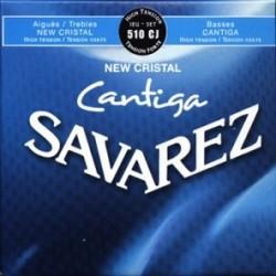 Jeu Classique Savarez Cantiga New Cristal Tension Forte