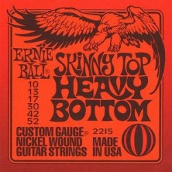 Cordes élect. Ernie Ball Slinky Top Heavy Bottom 10-52