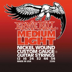 Cordes élect. Ernie Ball Medium Light 12-54