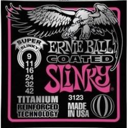 Cordes élect. Ernie Ball Super Slinky Titanium 9-42