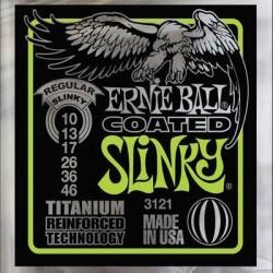 Cordes élect. Ernie Ball Regular Slinky Titanium 10-46