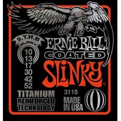 Cordes élect. Ernie Ball Slinky Top Heavy Bottom Titanium 10-52
