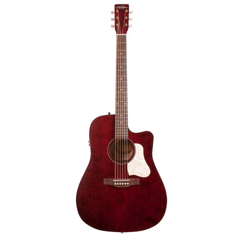 Art & Lutherie Americana Rouge Tennessee Electro Cutaway