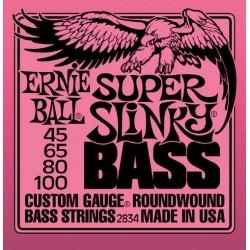 Cordes basse Ernie Ball Super Slinky 45-100