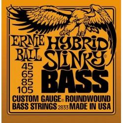 Cordes basse Ernie Ball Super Slinky 45-105