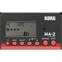 Métronome Korg MA-2BKRD