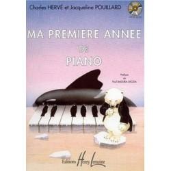 Pouillard - Ma prmière année de piano