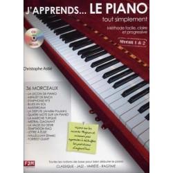 Astié - J'apprends... le piano tout simplement