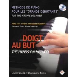 """Gouyet/Leguern -Doigt au but - Méthode piano pour les """"grands débutants"""""""