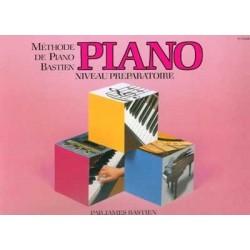 Bastien - Méthode de piano - Niveau préparatoire
