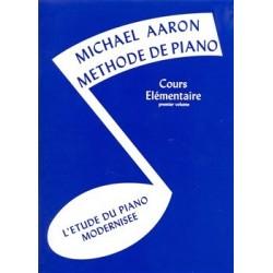 Aaron - Méthode de piano - Cours élémentaire - 1er volume