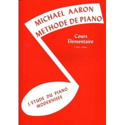 Aaron - Méthode de piano - Cours élémentaire - 2ème volume