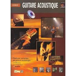 Avancé Guitare acoustique - Méthode avec CD