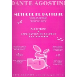 Agostini - méthode de batterie - Vol.1