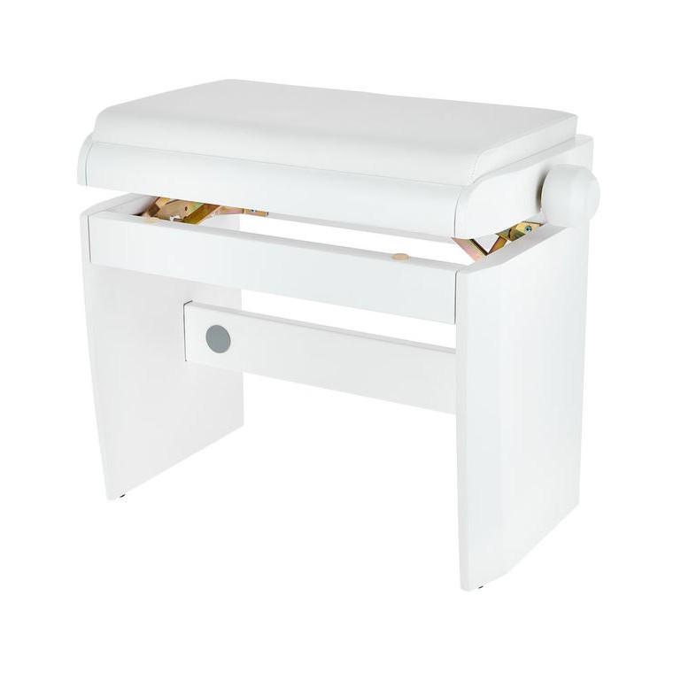 Banquette piano Dexibell Blanc mat