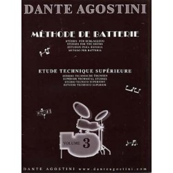 Agostini - Méthode de batterie - Vol.3