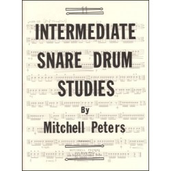 Peters Mitchell - Intermediate Snare Drum Studies