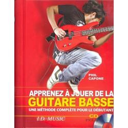 Apprenez à jouer de la guitare basse - Avec CD