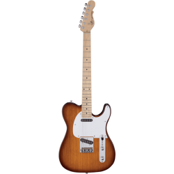 G&L Tribute Asat Semi-Hollow Tobacco Sunburst
