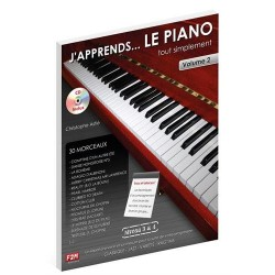 Astié - J'apprends... le piano tout simplement - Volume 2